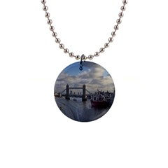 Thames Waterfall Color Mini Button Necklace