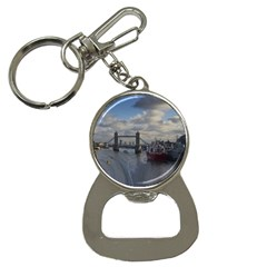 Thames Waterfall Color Key Chain with Bottle Opener