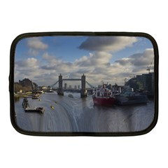 Thames Waterfall Color 10  Netbook Case