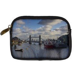 Thames Waterfall Color Compact Camera Case