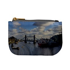 Thames Waterfall Color Coin Change Purse