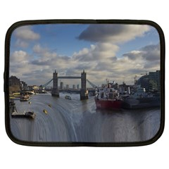 Thames Waterfall Color 15  Netbook Case