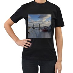 Thames Waterfall Color Black Womens'' T Shirt