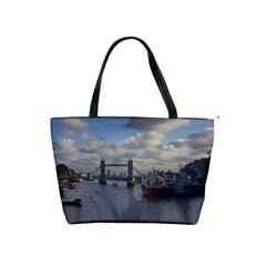 Thames Waterfall Color Large Shoulder Bag