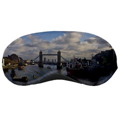 Thames Waterfall Color Sleep Eye Mask