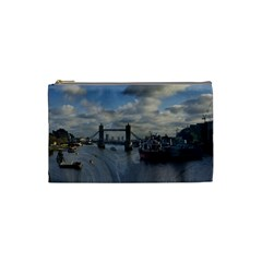 Thames Waterfall Color Small Makeup Purse