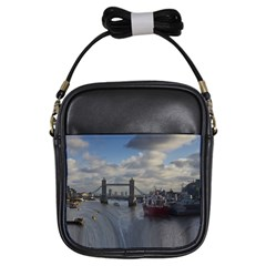 Thames Waterfall Color Kids  Sling Bag