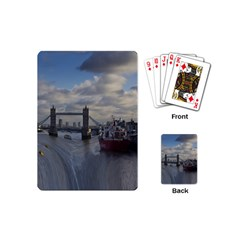 Thames Waterfall Color Playing Cards (Mini)