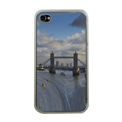 Thames Waterfall Color Apple Iphone 4 Case (clear)