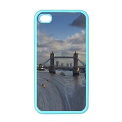 Thames Waterfall Color Apple Iphone 4 Case (color)