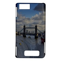 Thames Waterfall Color Motorola Droid X / X2 Hardshell Case