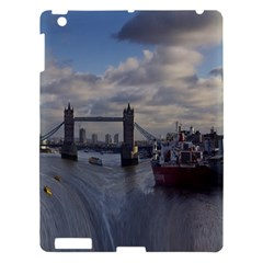 Thames Waterfall Color Apple iPad 3/4 Hardshell Case
