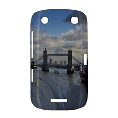 Thames Waterfall Color BlackBerry Curve 9380 Hardshell Case