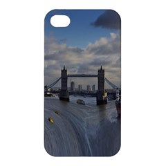 Thames Waterfall Color Apple iPhone 4/4S Premium Hardshell Case