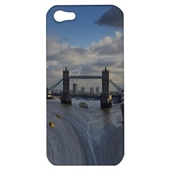 Thames Waterfall Color Apple Iphone 5 Hardshell Case