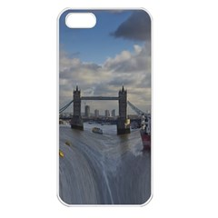 Thames Waterfall Color Apple Iphone 5 Seamless Case (white)