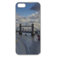Thames Waterfall Color Apple Seamless iPhone 5 Case (Clear)