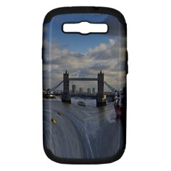 Thames Waterfall Color Samsung Galaxy S Iii Hardshell Case (pc+silicone)