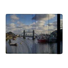 Thames Waterfall Color Apple iPad Mini Flip Case
