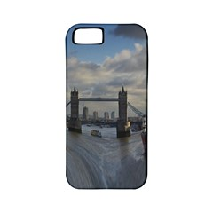 Thames Waterfall Color Apple iPhone 5 Classic Hardshell Case (PC+Silicone)