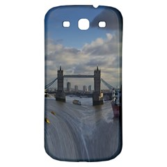 Thames Waterfall Color Samsung Galaxy S3 S III Classic Hardshell Back Case