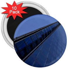 The Shard London 10 Pack Large Magnet (round)
