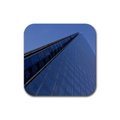 The Shard London 4 Pack Rubber Drinks Coaster (Square)