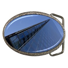 The Shard London Belt Buckle (Oval)
