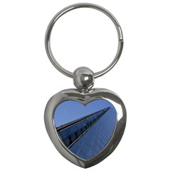 The Shard London Key Chain (heart)