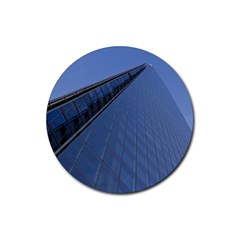 The Shard London Rubber Drinks Coaster (round)