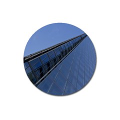 The Shard London Large Sticker Magnet (Round)