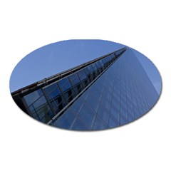 The Shard London Large Sticker Magnet (oval)
