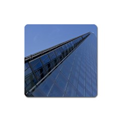 The Shard London Large Sticker Magnet (Square)