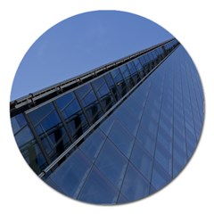 The Shard London Extra Large Sticker Magnet (Round)