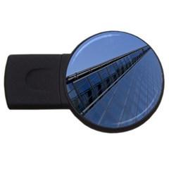 The Shard London 1Gb USB Flash Drive (Round)