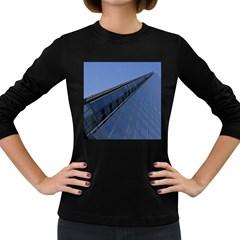 The Shard London Dark Colored Long Sleeve Womens'' T-shirt