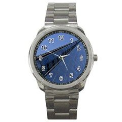 The Shard London Stainless Steel Sports Watch (Round)