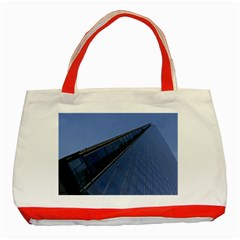 The Shard London Red Tote Bag