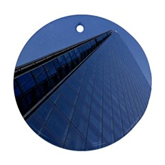 The Shard London Twin-sided Ceramic Ornament (Round)
