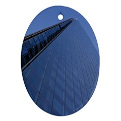 The Shard London Oval Ornament (two Sides)