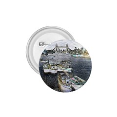 River Thames Art Small Button (round)