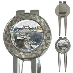 River Thames Art Golf Pitchfork & Ball Marker