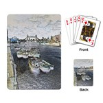 River Thames Art Standard Playing Cards Back