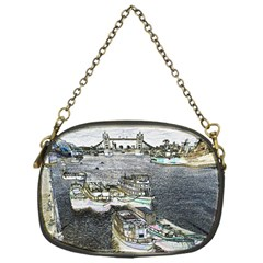 River Thames Art Single-sided Evening Purse
