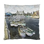 River Thames Art Twin-sided Cushion Case Back