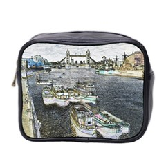 River Thames Art Twin Sided Cosmetic Case