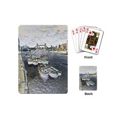 River Thames Art Playing Cards (Mini)
