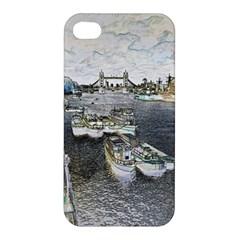 River Thames Art Apple Iphone 4/4s Hardshell Case