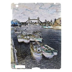 River Thames Art Apple iPad 3/4 Hardshell Case