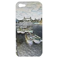 River Thames Art Apple Iphone 5 Hardshell Case